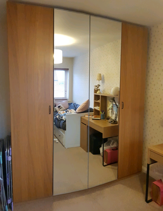 IKEA PAX wardrobe, immaculate and dismantled | in Durham, County Durham |  Gumtree