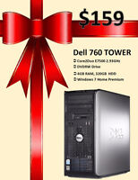 Winter Clearance Sale: Dell 760 Tower - Only $159!
