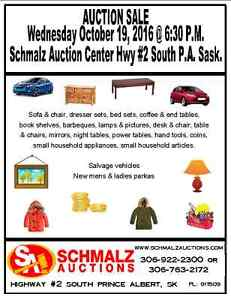 Wednesday Night Auction - OCT 19 - Schmalz Auctions