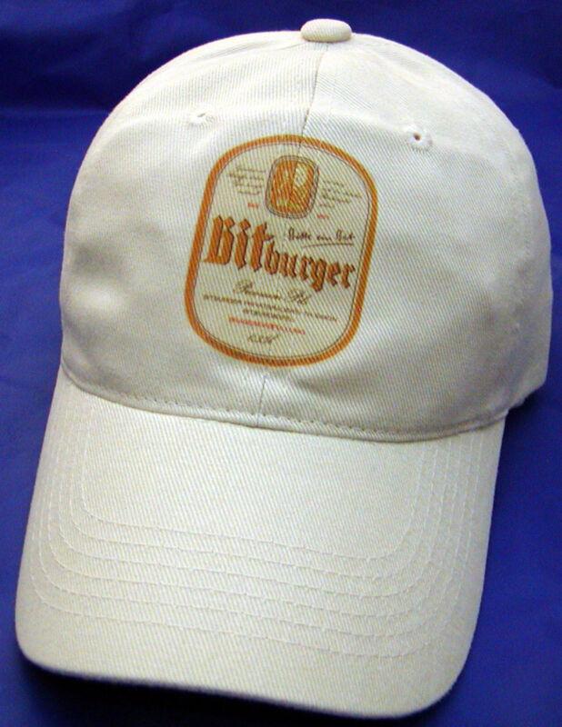 BITBURGER BEER LABEL BALL CAP