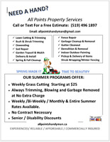 Fall cleanup, Landscaping, Grass cutting, Lawn