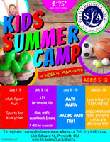 Summer Camp - 4 weeks in July