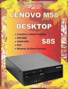 Desktop Blow Out Sale – Starting @ Only $85!