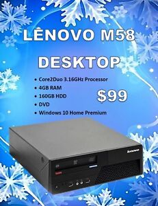 Desktop Blow Out Sale – Starting @ Only $99!