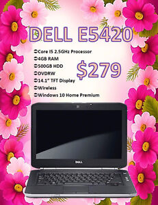 SUMMER LAPTOP SALE - Dell E5420 w/ Windows 10 Only $279!