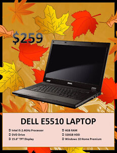 Black Friday Laptop Blow Out Sale – Dell E5510 Only $259 Kitchener / Waterloo Kitchener Area image 1