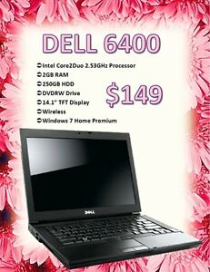SPRING LAPTOP SALE - Dell 6400 Laptop Only $149!