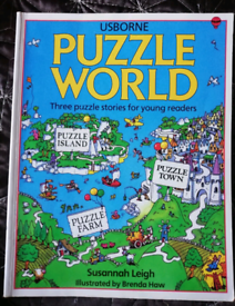Children's picture puzzle book - 3 books in 1. Only £4