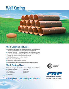 FIBERGLASS WELL CASINGS