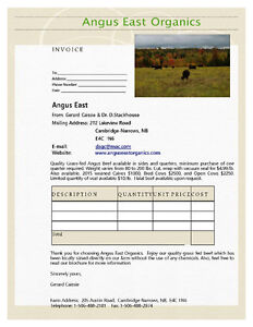 Grass-fed and Organic Angus Beef