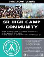 ONTARIO SUMMER CAMP FOR TEENS!