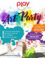 Art Party Birthday