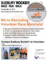 Sudbury Rocks!!! Marathon Needs Volunteers
