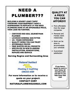 Plumbing Installation and Services