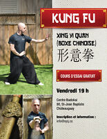 Arts martiaux traditionnel Chinois - (Xing Yi Quan/Kung-fu)