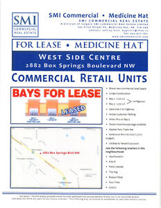 New Commercial Retail Units on TransCanada Highway