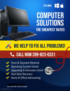 THE CHEAPEST AND QUICKEST COMPUTER REPAIR AND RECOVERY!