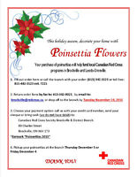 ANNUAL RED CROSS POINSETTIA CAMPAIGN