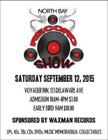 North Bay Record Show Fall 2015