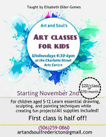 Art and Soul's affordable art classes for kids!