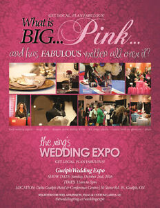 Brides unite on Oct 2, 2016: Register for the Guelph Expo