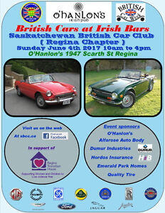British Cars at Irish Bars
