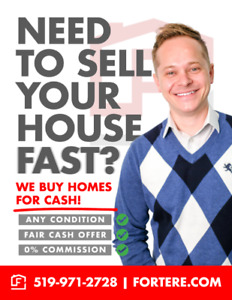 Do you need To sell your home?  We can Help!