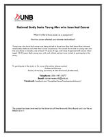 University of New Brunswick Young Men's Study