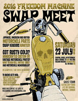Looking for SWAP VENDERS for FREEDOM MACHINE MOTORCYCLE SHOW