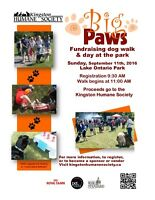 Vendors - Big Paws on the Lake - Kingston Humane Society