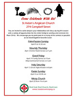 Holy Week Services at St. Aidan's Anglican Church