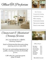 Maid To Perfection Cleaning Services