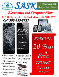 CELLPHONE REPAIRS / UNLOCKING & SALES