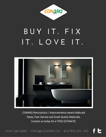 Buy It. Fix It. Love It. Ask for your FREE ESTIMATE today!