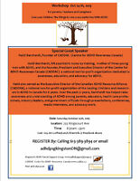 Fall parent Workshop / Kingston's ADHD Parent Support Group