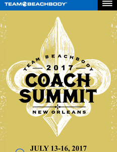 Beachbody Summit in NOLA
