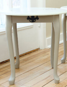 Hand-Painted End Tables West Island Greater Montréal image 3