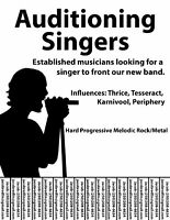Auditioning Singers