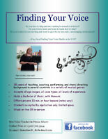 Accepting voice students-limited space available!