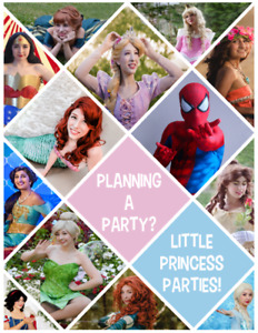 Best  Birthday Parties in NS! 50+ Characters! Little Princesses