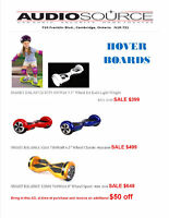 Self Balancing Hoverboards @ Audiosource Inc.
