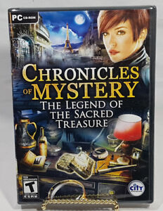 CHRONICLES OF MYSTERY THE LEGEND OF THE SACRED TREASURE PC Game