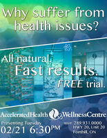 Why Suffer From Health Issues?