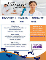 5 DAY FOOT CARE COURSE FOR NURSES