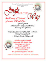 """JINGLE ALL THE WAY""  CHRISTMAS CONCERT"