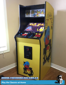 New Home Arcade Stand-up Cabinet with 9,880 games & Warranty