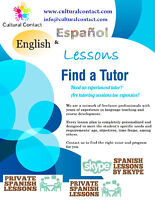 SPANISH & ENGLISH LESSONS & TRANSLATION SERVICES