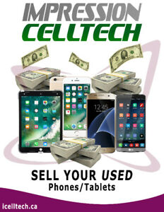 Sell Your iPhone/Samsung Used/Broken/New Cellphone & Tablet