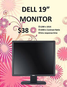 "MONITOR SALE - DELL 19"" Monitor Only $38!"