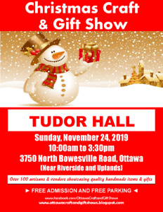 TUDOR HALL CHRISTMAS CRAFT AND GIFT SHOW